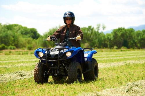 ATV Pictures: ATV 2012 Yamaha Grizzly 125 Action, ATV Images