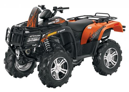 2012 Arctic Cat 700i MudPro LTD