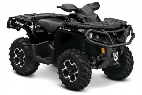 2012 Can-Am Outlander 1000 XT Black