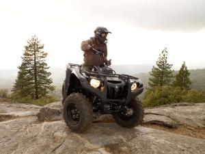Yamaha expects the Grizzly 550 FI to be a class leader.