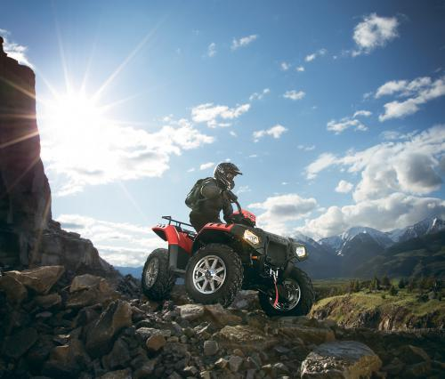 2012 Polaris Sportsman XP 850