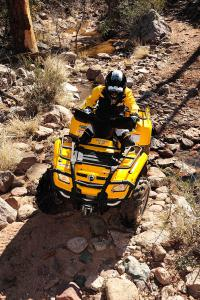 The Outlander 400 EFI has plenty of perks for an entry-level quad.