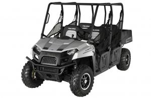2012 Polaris Ranger Crew 500 Turbo Silver