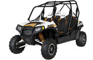 2012 Polaris Ranger RZR 4 800 White/Orange Madness Robby Gordon