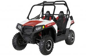 2012 Polaris Ranger RZR 800 White Lightning/Red