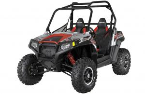 2012 Polaris Ranger RZR S 800 Liquid Silver/Red