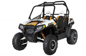 2012 Polaris Ranger RZR S 800 White/Orange Madness