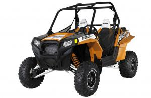 2012 Polaris Ranger RZR XP 900 Black/Orange Madness