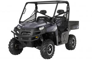 2012 Polaris Ranger XP 800 Magnetic Metallic