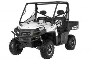 2012 Polaris Ranger XP 800 Pearl White