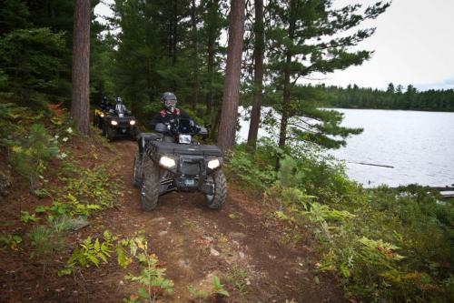 ATV Ride at Lake Kukagami