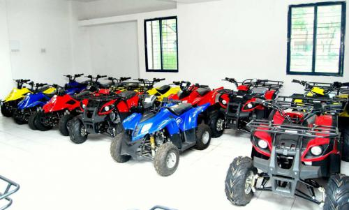 Nebula Automotive ATV Showroom in India