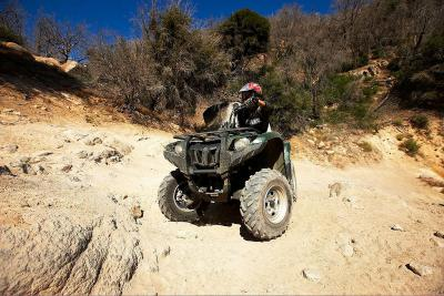 The new Yamaha Grizzly 550 is based on the popular Grizzly 700.