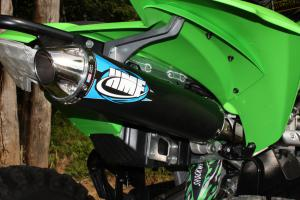 Kawasaki KFX450R Project - HMF Exhaust
