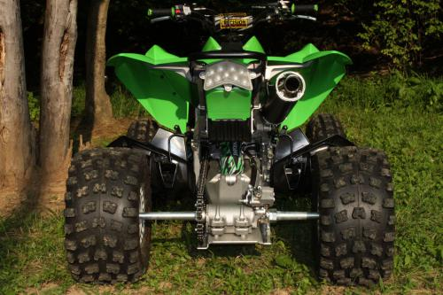 Kawasaki KFX450R Project - Kenda Kutter XC Tires