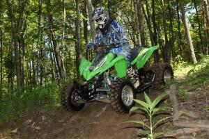 Kawasaki KFX450R Project - Action