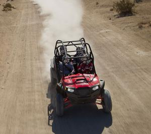 2012 Polaris Ranger RZR XP 4 900 Action Front
