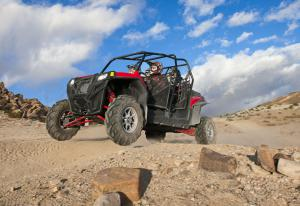 2012 Polaris Ranger RZR XP 4 900 Action Left