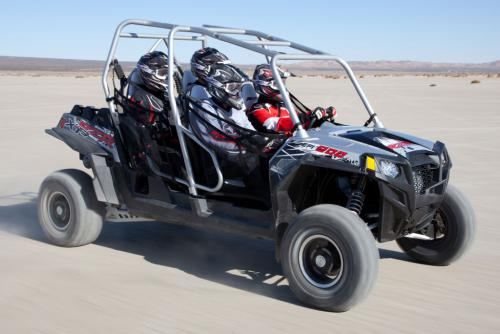 2012 Polaris Ranger RZR XP 4 900 Liquid Silver Action