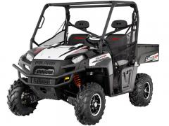 2012 Polaris Ranger XP 800 Black-White Lightning