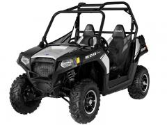 2012 Polaris RZR 800 Black-Liquid-Silver