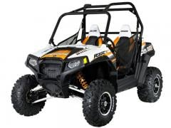 2012 Polaris RZR S 800 White-Orange Madness