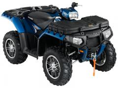 2012 Polaris Sportsman XP 550 Blue Fire