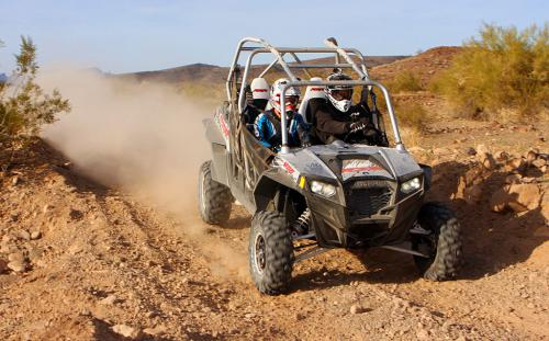 2012 Polaris Ranger RZR XP 4 900 Action 1