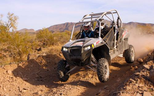 2012 Polaris Ranger RZR XP 4 900 Action 3