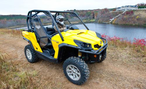 2011 Can-Am Commander Beauty