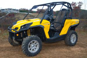 2011 Can-Am Commander Left Side