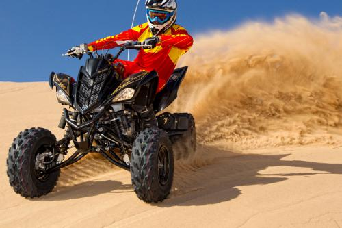 2012 Yamaha Raptor 700R SE Action