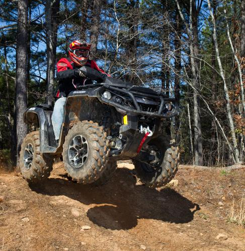 2012 Can-Am Outlander 1000 XT Jump