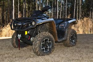 2012 Can-Am Outlander 1000 XT Muddy