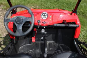 2012 Polaris Ranger RZR 170 Cockpit