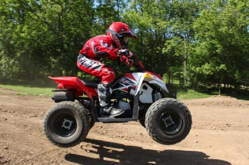 2012 Polaris Outlaw 90 Action Jump