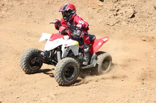 2012 Polaris Outlaw 90 Action Sliding