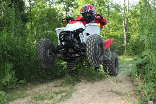 2012 Polaris Outlaw 90 Wheelie