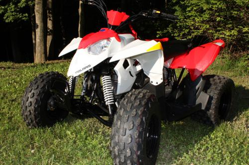 2012 Polaris Outlaw 90 Front Left