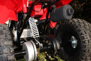2012 Polaris Outlaw 90 Rear Shock