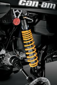 2013 Can-Am Outlander 1000 X mr Rear Suspension