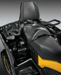 2013 Can-Am Outlander MAX 1000 XTP Rear Seat