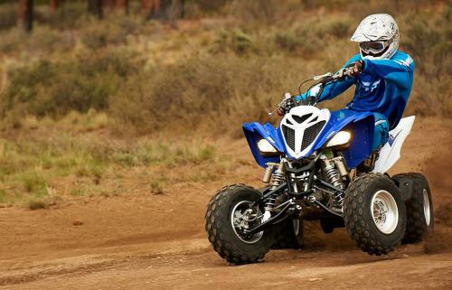 2013 Yamaha Raptor 700R Action Sliding