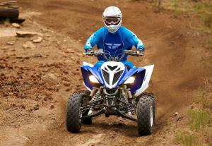 2013 Yamaha Raptor 700R Action Front