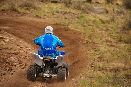 2013 Yamaha Raptor 700R Action Rear