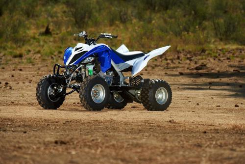 2013 Yamaha Raptor 700R Front Left