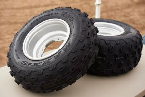 2013 Yamaha Raptor 700R Wheels Tires