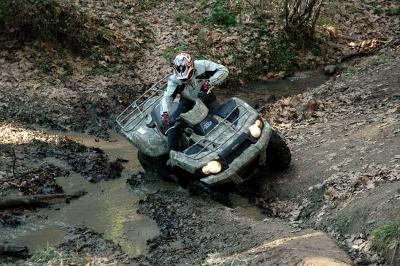 No matter how hard the terrain is the Brute Force 750 can pull you through.