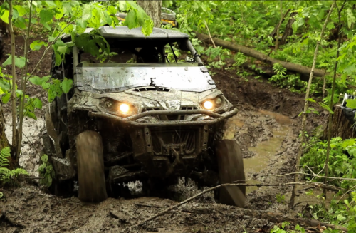 Muddy ATV Trails Ontario