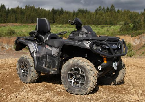 2013 Can-Am Outlander MAX 1000 Limited Front Right